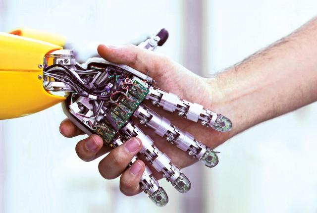 A robot megoldja